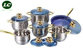 batterie cuisine inox ustensiles casseroles batterie de cuisine inox haute qualité marmite
