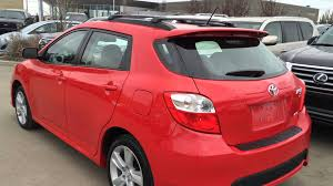 toyota 2011 awd pre owned 2011 toyota matrix s awd walk through review fort