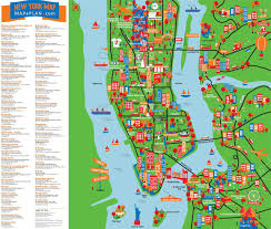 Brooklyn College Map New Free Printable Map Of New York City Cashin60seconds Info