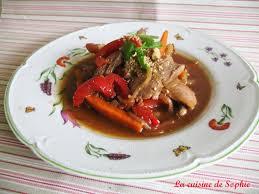 cuisiner aiguillette de canard wok d aiguillettes de canard aux cinq parfums la cuisine de