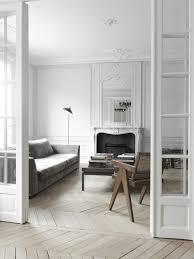 paris apartment herringbone floors interior by nicolas schuybroek
