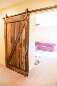 Wooden Barn Door by Porter Barn Wood Custom Z Brace Sliding Barn Door Made With