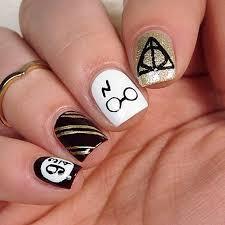 the 25 best harry potter nail art ideas on pinterest harry