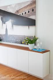 Ironing Board Cabinet Ikea Nalle U0027s House Diy Floating Sideboardwe Mounted Three 36