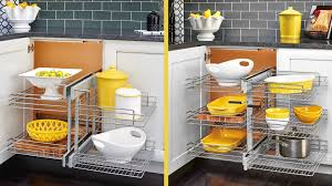 kitchen corner cabinet pull out shelves decor elegant and very glamour rev a shelf blind corner for