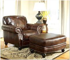 leather and wood chair with ottoman design ideas 2018 lighting
