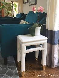 Old Furniture Makeovers Accent Table Jewels At Home