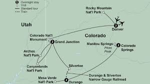 Colorado Electronic System For Travel Authorization images The colorado rockies featuring national parks and historic trains jpg