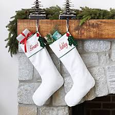 Cowhide Christmas Stockings Bunny Williams Embroidered Stocking Ballard Designs