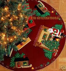 modest decoration tree skirt kits best bucilla s