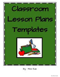 weekly detailed lesson plan template elementary weekly lesson