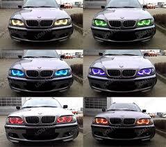 halo rings car images 08 14 subaru impreza wrx headlight rgb 7 color led angel eye kit jpg