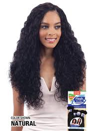 wet and wavy sew in hair care model model nude fresh wet wavy 7 piece 18 20 22 natural