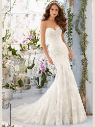 mori wedding dresses mori 5413 sweetheart lace floor length bridal gown