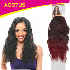 synthetic hair extensions kilimall aootus synthetic hair extensions indian wave 16 inch 2