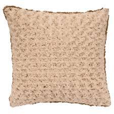 Cuddle Cushion Bella Rosebud Cuddle Fur Euro Sham