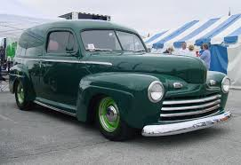 Ford Vintage Truck - 1946 ford sedan delivery i wouldn u0027t generally care for green but