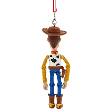 woody articulated ornament shopdisney