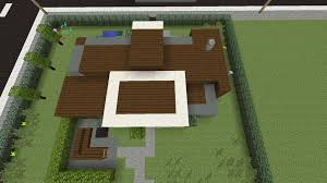 Simple Modern House Minecraft How To Make A Simple Modern House Xbox One
