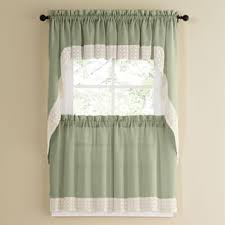 24 Inch Kitchen Curtains Curtain Tiers Shop The Best Deals For Nov 2017 Overstock Com
