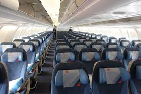 Interior Air Review Air Serbia Business Class A330 Belgrade To New York One