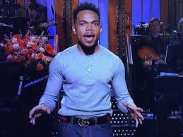 chance the rapper sings thanksgiving song during snl monologue