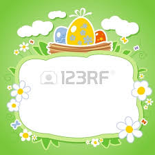 easter card template vector eps format easter card template
