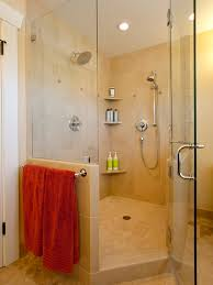 Corner Shower Glass Doors Bathroom Design Contemporary Bathroom Shower Room With Frameless