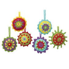 herrschners bright ornaments crochet yarn
