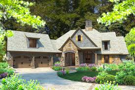 4 Bedroom Craftsman House Plans Rugged Good Looks With A Bonus Room 16883wg Architectural