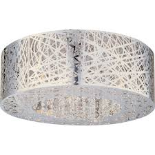 shade crystal chandelier chandeliers design marvelous contemporary drum shade chandeliers