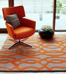 Orange Modern Rug 26 Best Rugs Images On Pinterest Area Rugs Contemporary Rugs