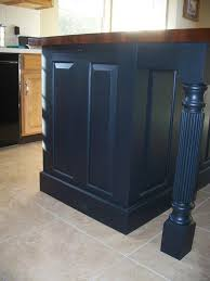 kitchen islands with posts island posts to fit three sided skirting for kitchen islands
