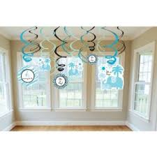 baby shower boy decorations sweet safari boy swirl baby shower party room