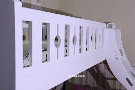 Luxury Carved Solid Wood Triple Bunk Bed Sleepland Beds - Three sleeper bunk bed