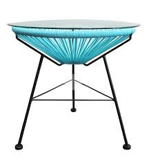 Acapulco Outdoor Chair Front View Of The Acapulco Side Table Furniture Pinterest