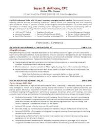 office manager cv sample medical resume samples gallery bunch