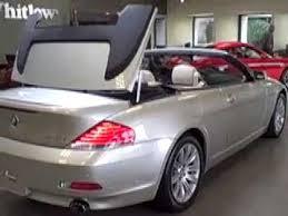 bmw 6 series convertible review 2007 bmw 6 series convertible at lexus of richmond