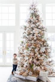 interior flocked tree decorating ideas dash durability