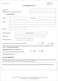 job application form template free word pdf excel documents
