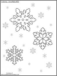 snowflake coloring pages preschoolers 37591