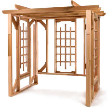 Pergola Kits Cedar by Pergola Swing Kit By All Things Cedar Garden Furniture