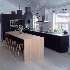 basse cuisine table basse bois metal noir pour conception cuisine traitement