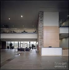 Modern Lobby by Modern Lobby Photograph By Robert Pisano