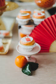 Cupcake New Years Decoration Ideas by Chinese New Year Party Ideas Red Gold Party 100 Layer Cake