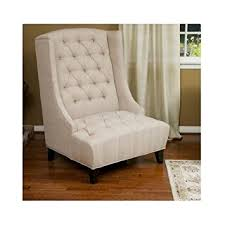 amazon com high back chair a welcome piece of contemporary