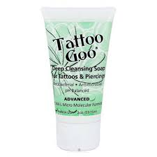 tattoo goo aftercare lotion review tattoo goo deep cleansing soap 2oz