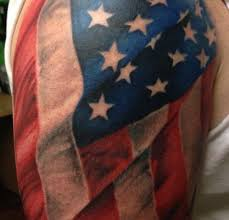 flag tattoos tattoo body art