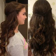 loose curly prom hairstyles long loose curls hairstyles for prom