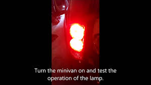 2005 dodge grand caravan tail light assembly how to repair a 2012 dodge grand caravan rear light turn signal